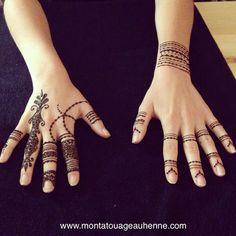 Tatouage au henné naturel, motifs traditionnels, bracelet #pourleplaisir www.montatouageauhenne.com