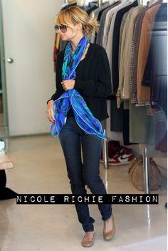 Nicole Richie   Vintage Pucci