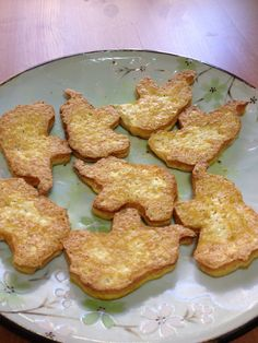 Baked Tofu Shapes -  Cute!