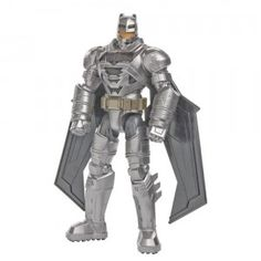 Based on the Batman v Superman: Dawn of Justice movie, Electro-Armor Batman from Mattel is a 12-inch, talking Batman figure featuring lights and sounds Watch the full review on ttpm.com