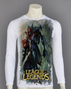 League of Legends t shirt for men XXXL Zed long sleeve-