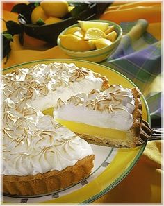 Lemon pie (receta super facil, y riquisima) Pie Recipes, Baking Recipes, Sweet Recipes, Dessert Recipes, Sweet Pie, Apple Desserts, International Recipes, Cupcake Cakes, Food And Drink