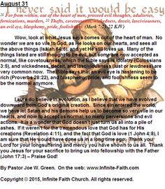 Jesus - Savior of ALL. Daily Devotional: