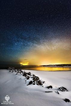 Lithuania, seaside in winter