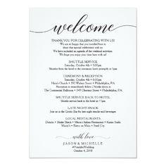 Handwritten Wedding Itinerary - Wedding Welcome Card -Wedding Ideas - Destination Wedding Ideas - Wedding Welcome Letter - Hotel Guest Bags - Wedding Welcome Itinerary by Creative Union Design Wedding Costs, Destination Wedding, Wedding Day, Dream Wedding, Card Wedding, Wedding Tips, Bridal Tips, Wedding Hacks, Perfect Wedding