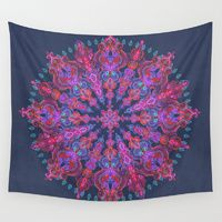 Wall Tapestries featuring Bohemian by micklyn