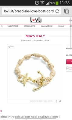 Buy this amazing bracelets on lovli.it. Italian design granted and it is only 24 € in free shipping worldwide for this weekend!!! Love this!!!