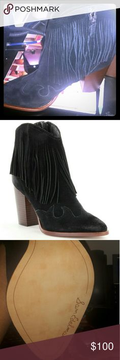 Sam Edelman NIB Black Suede boots size 10.5 Never worn. Org 175. Authentic Sam Edelman Shoes Ankle Boots & Booties