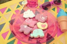 petits biscuits décorés, sablés décorés, decorated cookies