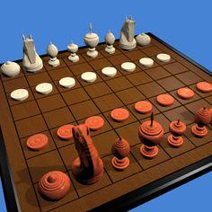 Play Makruk online 3D or 2D (Thai chess) http://www.jocly.com/#/play/makruk