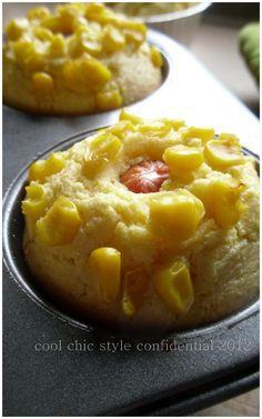 """Il mio sostanzioso """" Corn Bread Muffins""""   per il brunch domenicale    Felice giorno !    http://coolchicstyleconfidential.blogspot.it/2012/10/il-mio-sostanzioso-corn-bread-muffins.html"""