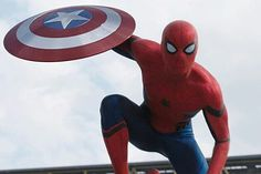 Marvel Captain America, Civil war, Spiderman