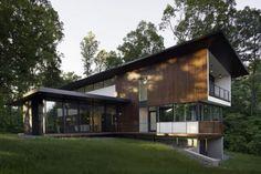 Pierre de parement extérieur pour une façade moderne | House