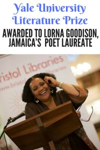 Yale University Literature Prize Jamaican Lorna Goodison Suzan Lori Parks, Female Poets, Jamaica, Nonfiction, Literature, Poems, Awards, Writer, University