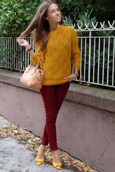 Burgundy+mustard