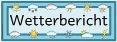 Kärtchen für den Wetterdienst   Ideenreise - Blog