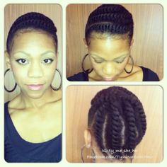 Click the image for more of Tynisha's natural hair looks.
