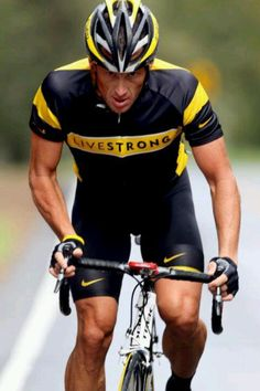 LANCE ARMSTRONG- 2 time Cancer survivor is always my hero!