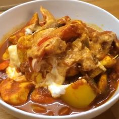 """Try my #Leanin15 curry in a hurry Have it low carb like this or post workout with some basmati rice """