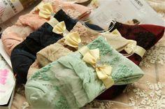 Lot 5 Pairs Womens Girls Cute Lolita Cotton Floral Ruffle Lace Retro Ankle Socks | eBay