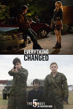 Before and after. Nothing will ever be the same again. | The 5th Wave is now in theaters, so click through to buy your tickets online! #5thWaveMovie