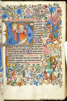 Book of Hours, MS M.1031 fol. 14r - Images from Medieval and Renaissance Manuscripts - The Morgan Library & Museum