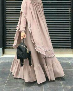 hijab abaya My business , Muslim Women Fashion, Islamic Fashion, Abaya Fashion, Fashion Dresses, Ideas Hijab, Moslem Fashion, Mode Abaya, Muslim Dress, Hijab Dress