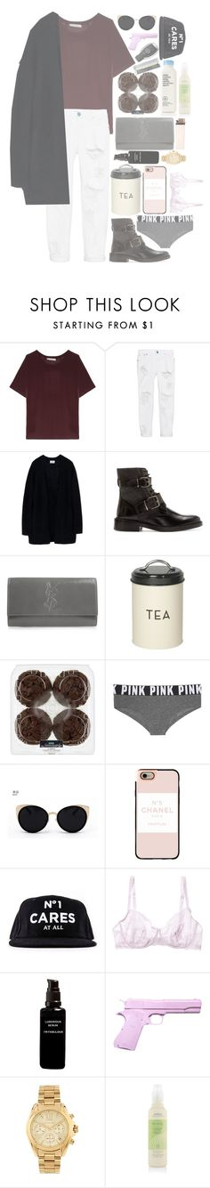 """""""•Thinking 'bout you- Frank Ocean•"""" by ranyastyles ❤ liked on Polyvore featuring Acne Studios, One Teaspoon, Burberry, Yves Saint Laurent, Dot & Bo, Victoria's Secret, Una-Home, Casetify, Cosabella and Mercedes-Benz"""