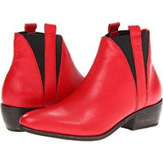 Dolce Vita - Pencey by Dolce Vita Ringo (Red Leather) - Footwear -  Dolce Vita  Pencey by Dolce Vita Ringo (Red Leather)  Footwear 6pm.com is proud to offer the Dolce Vita  Pencey by Dolce Vita Ringo (Red Leather)  Footwear: When it comes to your casual-cool weekend look, be the style ring leader and rock these bold boots! ; Two pull...