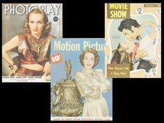 """Carole Lombard wears Joseff on the January 1940's """"Photoplay,"""" and Joan Crawford flaunts a Joseff brooch on the February 1948 issue of """"Motion Picture."""" February 1948's """"Movie Show,"""" with Tyrone Power and Ann Blyth on the cover, features an article penned by Joseff entitled, """"Let's Be Glamorous!"""""""