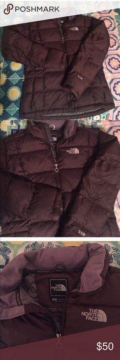 Brown north face puffer jacket I bought this off here and don't reach for it often enough. Deserves a well loved home. North Face Jackets & Coats Puffers