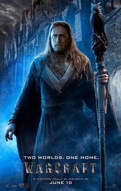 Warcraft Movie Medivh Ben Foster Poster