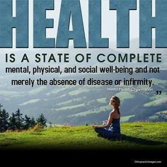 You must first get healthy to lose weight.  Health is not just the absence of symptoms-it is a body that has ALL of its systems functioning at 100%.