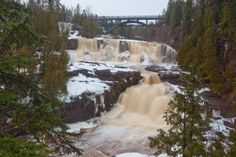 Gooseberry Falls near Two Harbors, Minnesota by Northern Images Photography
