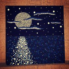 u need patience but daeeeyyyymmmnn Mandala Design, Mandala Art, Mandala Canvas, Mandala Painting, Aboriginal Dot Painting, Dot Art Painting, Painting & Drawing, Canvas Art Projects, Stippling Art