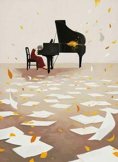art of animation, piano Anime Piano, Stock Design, Wattpad Background, Arte Peculiar, Piano Art, Wallpaper Animes, Music Wallpaper, Anime Artwork, Anime Art Girl