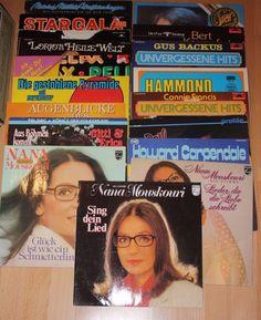 Vinyl Sammlung  Deutsch MOUSKOURI DEUTSCHER KÄMPFERT FRANCIS 17 LPs