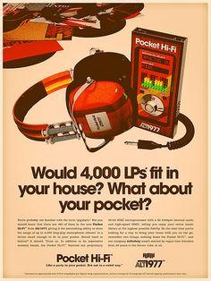 Modern Gadgets As Retro Devices by Alex Varanese Retro Ads, Vintage Advertisements, Vintage Ads, Retro Advertising, 80s Ads, School Advertising, Retro Posters, Vintage Music, Vintage Stuff