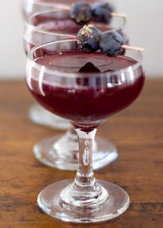 Concord grape cocktail. Mmmm!