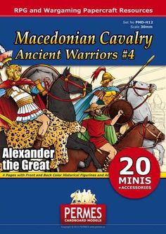 Ancient Warriors Set 4 - Macedonian Cavalry - PERMES | Historical Series | Historical Series | DriveThruRPG.com