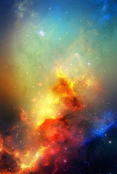 nebulosas são como obras de artes distantes que só conseguimos ver com os olhos *-*