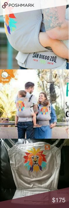 Tula Baby Carriers- Roar Standard Be hands free and be close to your baby. This size carries baby between 15 lbs to 45 lbs. Used yet in minimal usage condition. No hood. Some minor wear signs.Comes from pet/smoke free home. Questions? Happy to answer them. Tula Other