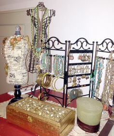 eec1e97cb846f3 Bling Racks for T1 Jewelry...all of my stuff out so I can SEE it. Tia  WhiteEagle · Fashion · gypsy ...