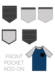 Recess Raglan Front Pocket Add-on   See Kate Sew