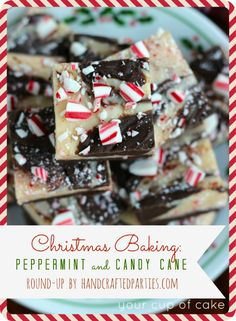 Christmas Baking recipes: peppermint + candy cane