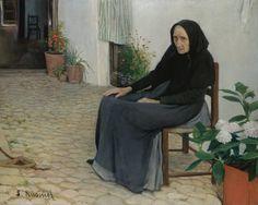 The Grandmother, Santiago Rusiñol