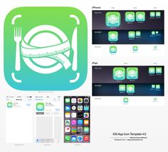 Create a Fresh and Clean iPhone App Icon by ...mcgb