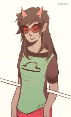 Long haired Terezi