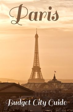 Money-saving tips for a trip to #Paris on a #budget