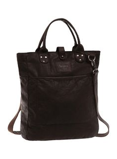 Bolso Pepe Jeans Leather #PepeJeans #JoummaBags #shopper #SS16